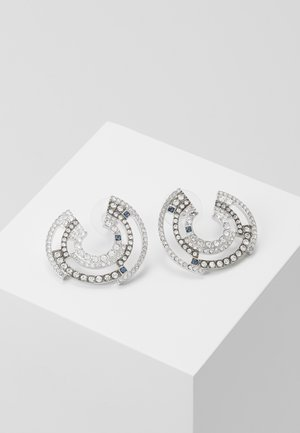CONCENTRIC SHIELD  - Earrings - silver-coloured
