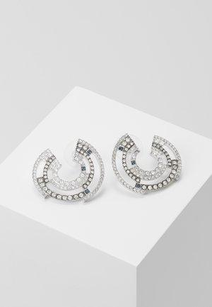 CONCENTRIC SHIELD  - Boucles d'oreilles - silver-coloured