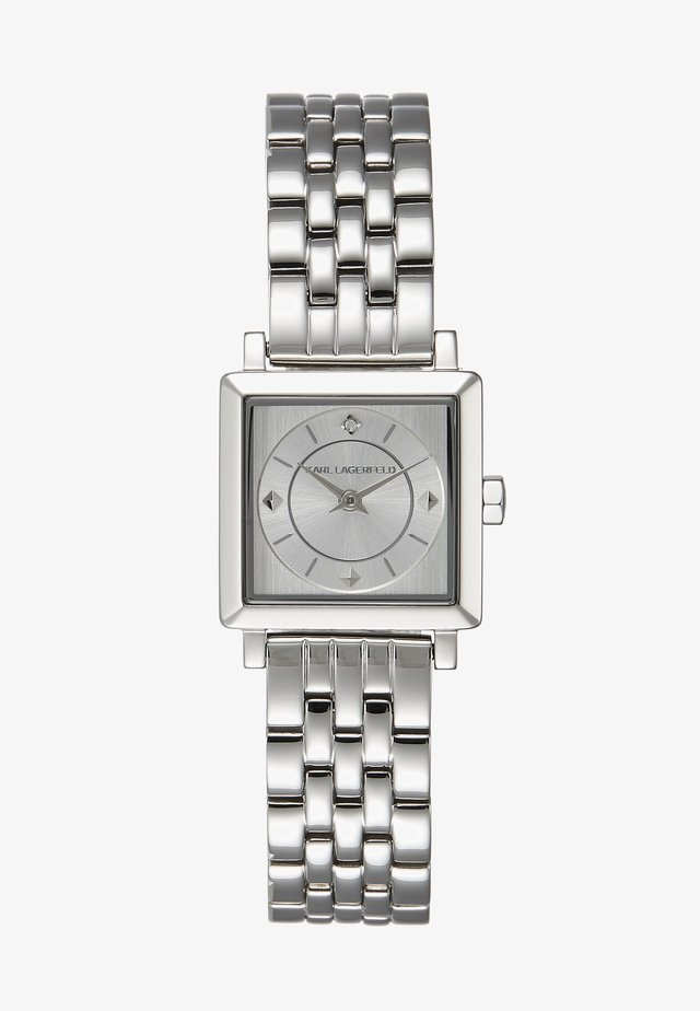 PETITE SQUARE BRACELET - Uhr - silver-coloured