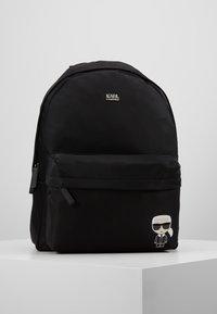 KARL LAGERFELD - IKONIK NYLON BACKPACK - Plecak - black - 0