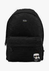 KARL LAGERFELD - IKONIK NYLON BACKPACK - Plecak - black - 5