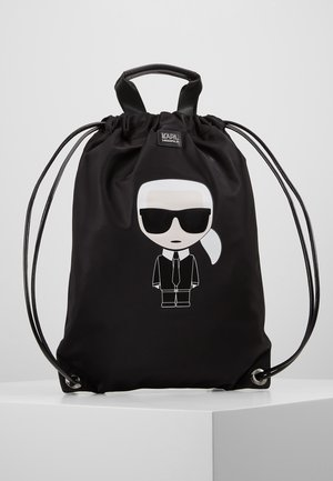 IKONIK FLAT BACKPACK - Sac à dos - black