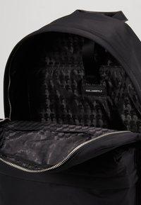 KARL LAGERFELD - IKONIK BACKPACK - Plecak - black - 5