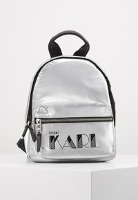 KARL LAGERFELD - BACKPACK - Sac à dos - silver - 0