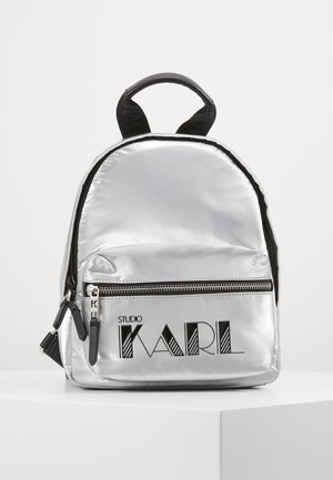 BACKPACK - Ryggsekk - silver