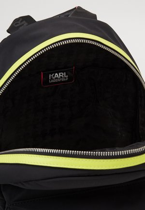 IKONIK NEON BACKPACK - Rucksack - black
