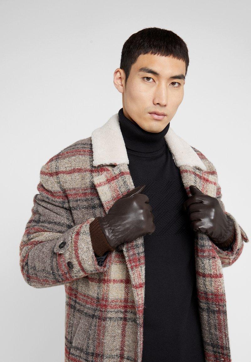KARL LAGERFELD - Gloves - brown