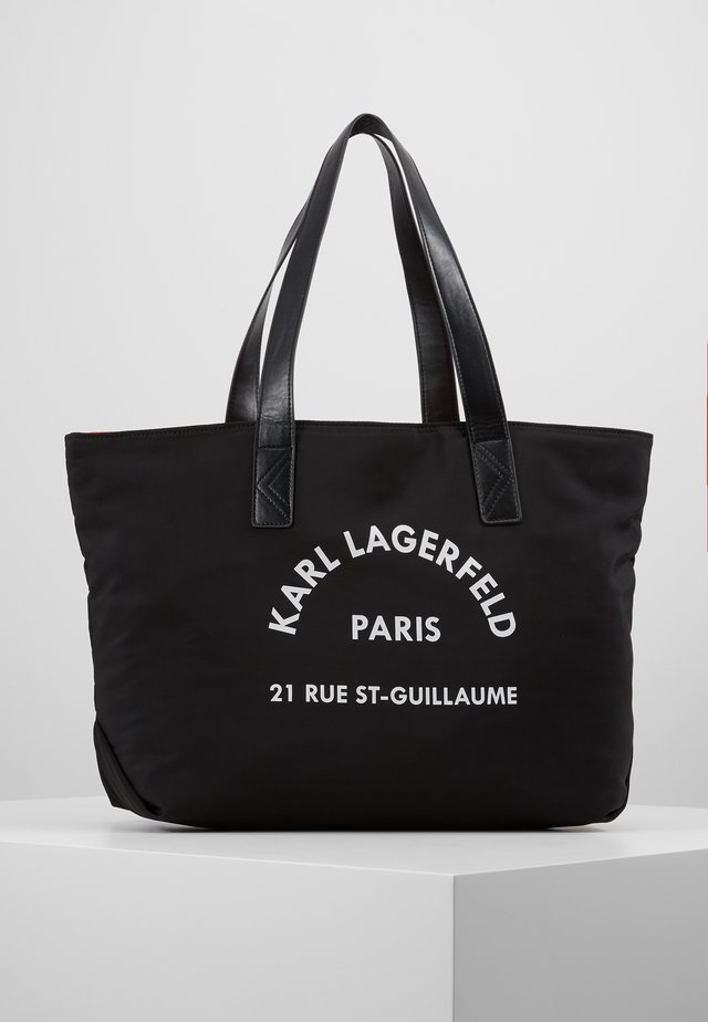 SHOPPING BAG - Handtasche - black