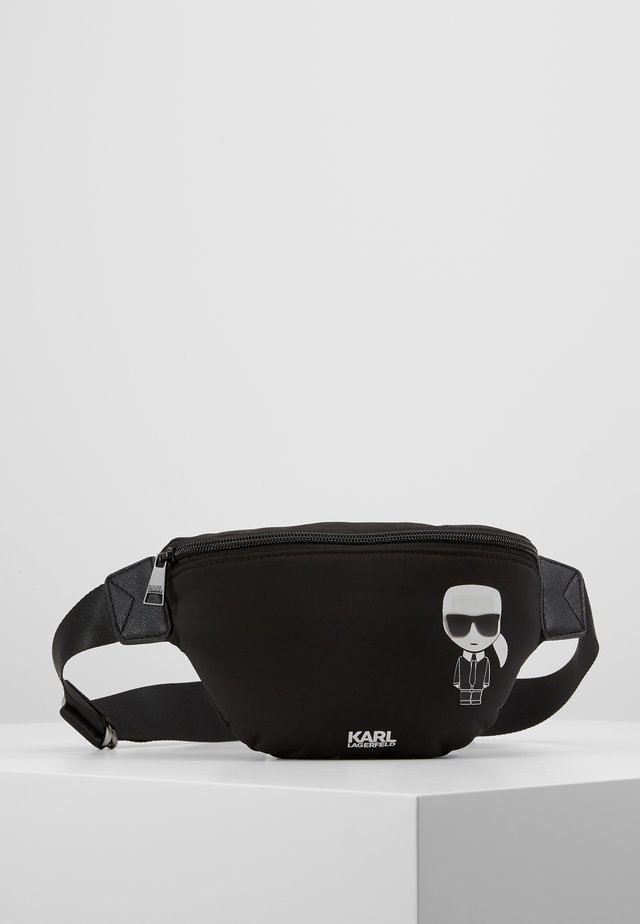 BUM BAG - Ledvinka - black