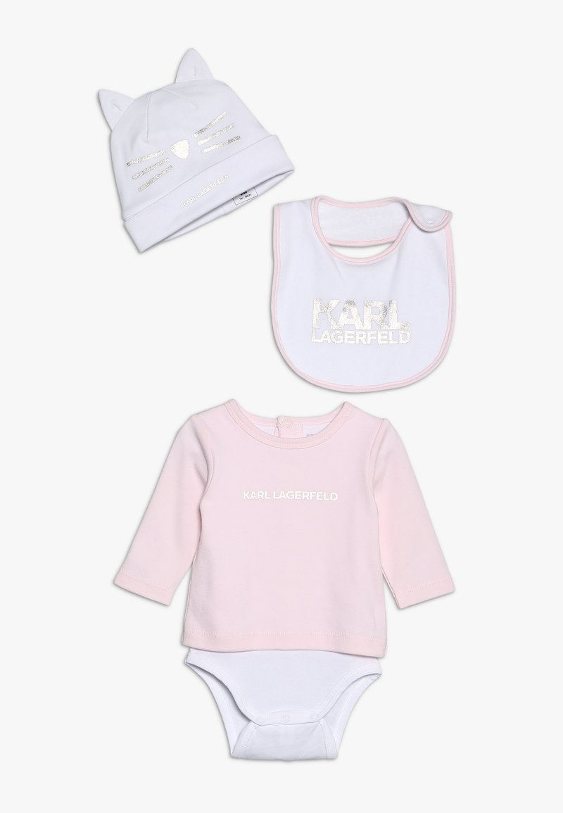 KARL LAGERFELD - SET - Baby gifts - baby pink