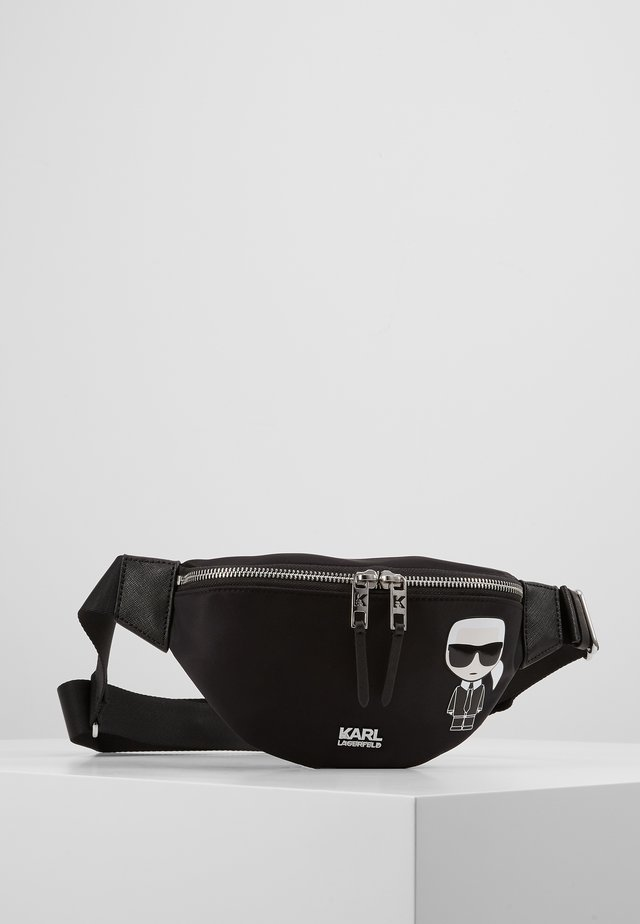 IKONIK BUMBAG - Bum bag - black
