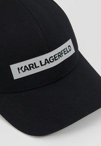 KARL LAGERFELD - Kšiltovka - black - 5