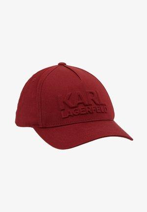 Caps - dark red