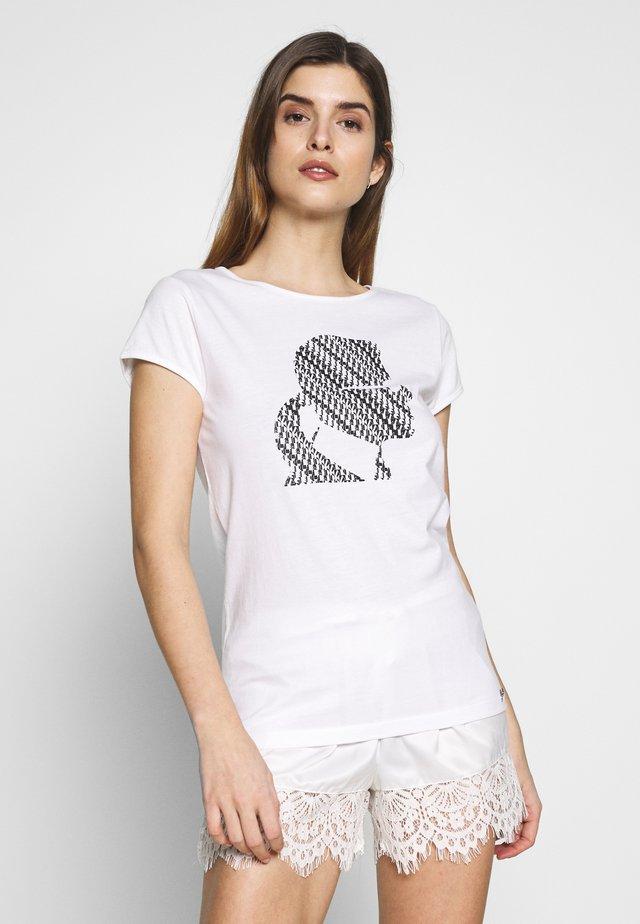 CARRY OVER - Nachtwäsche Shirt - white
