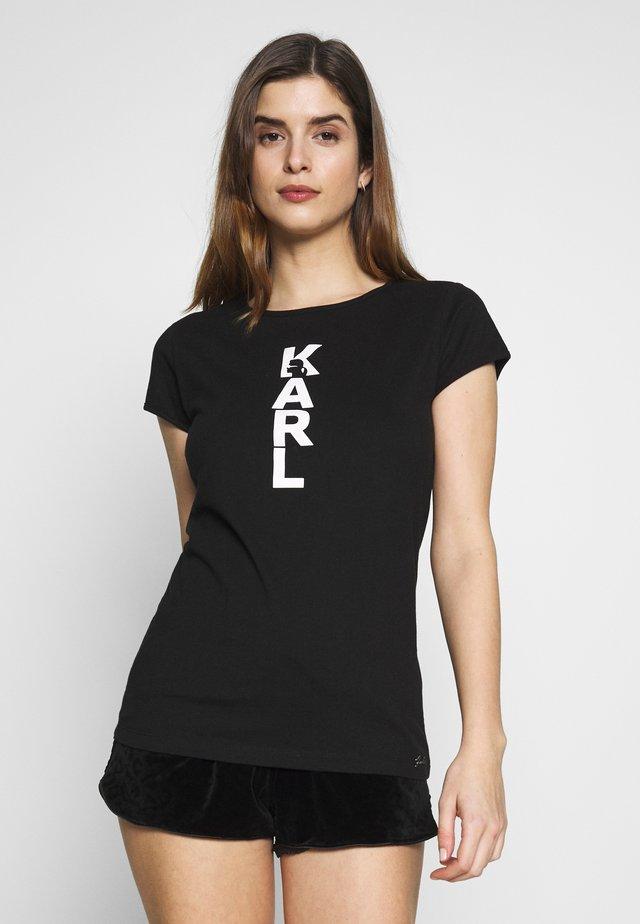 CARRY OVER - Nachtwäsche Shirt - black