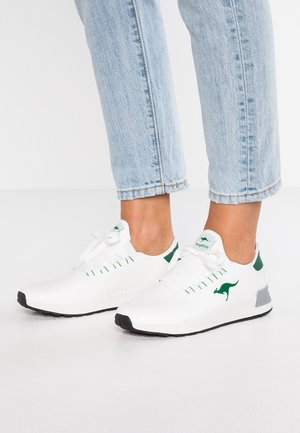 Sneakers - white/ivy green