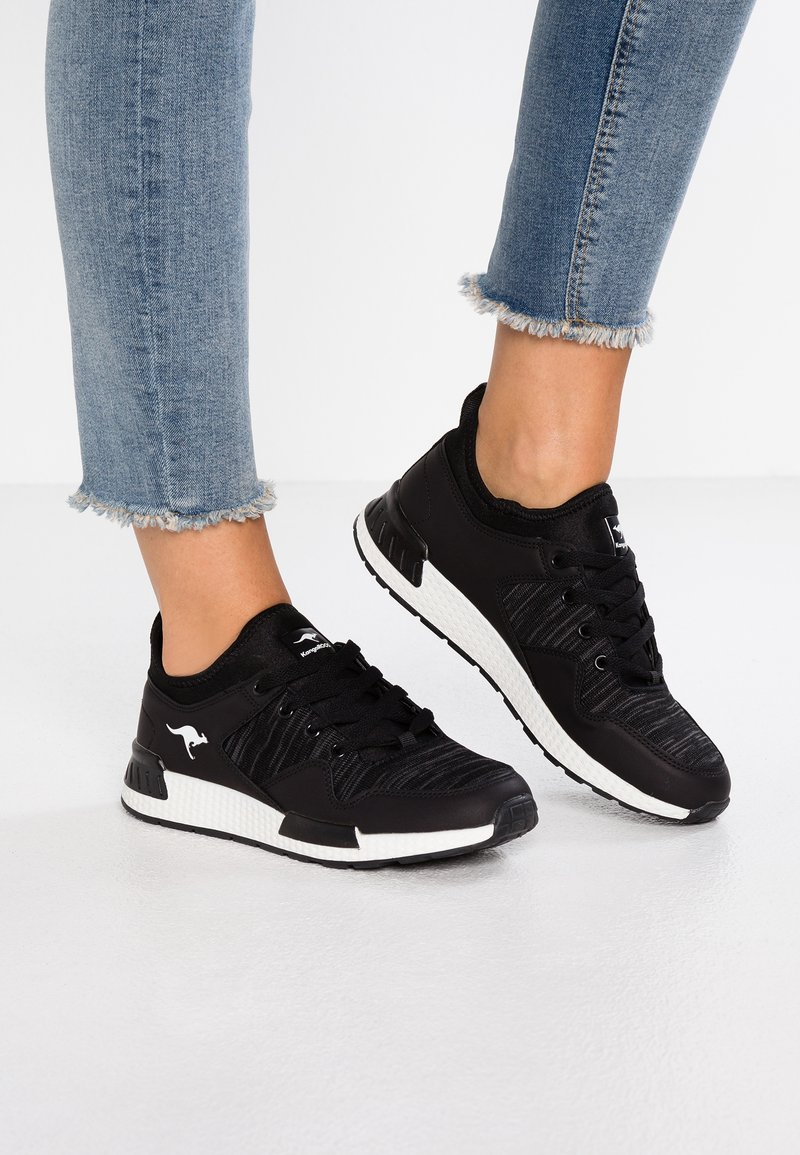 KangaROOS - Sneaker low - jet black