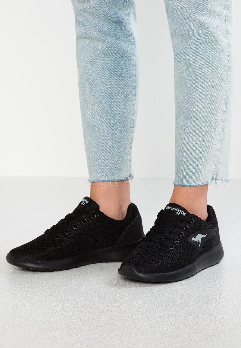 KangaROOS - KAISHU - Sneakers laag - jet black