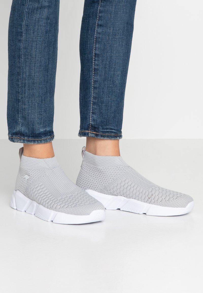 KangaROOS - KERBO SLIP - High-top trainers - vapor grey