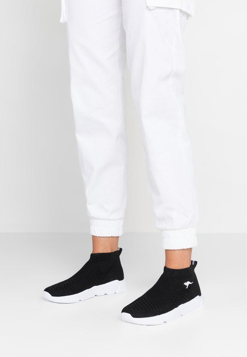 KangaROOS - KERBO SLIP - Sneaker high - jet black