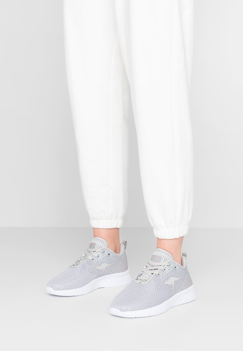 KangaROOS - ACT - Sneakers - vapor grey/dusty rose