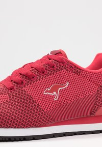 KangaROOS - RETRO RACER - Trainers - red - 2