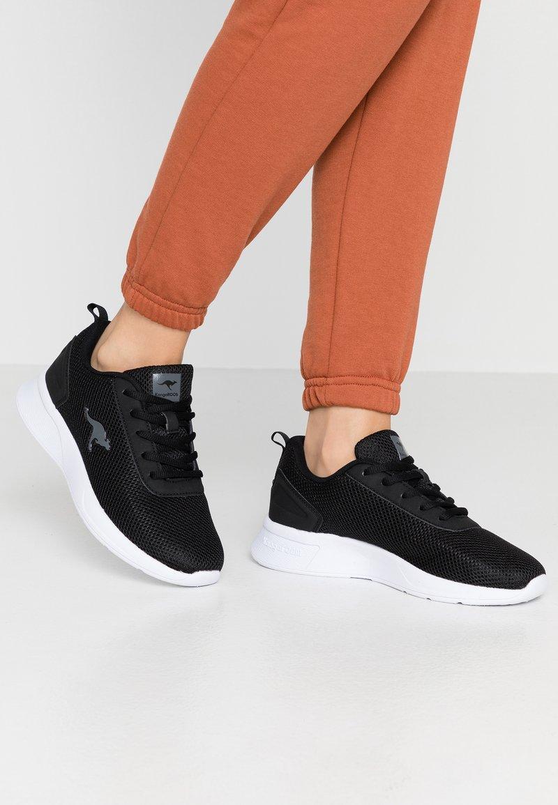 KangaROOS - KF-A EASE - Sneakers - jet black