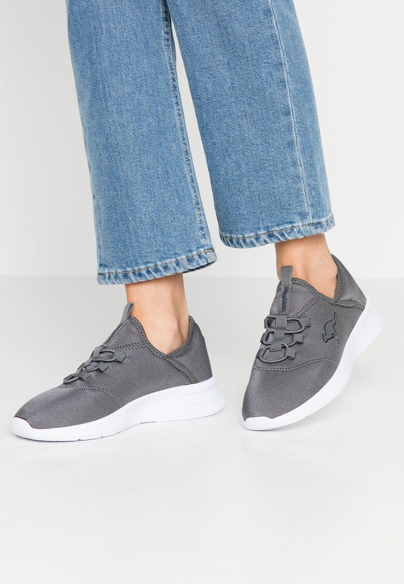 KangaROOS - SUITE - Nazouvací boty - steel grey