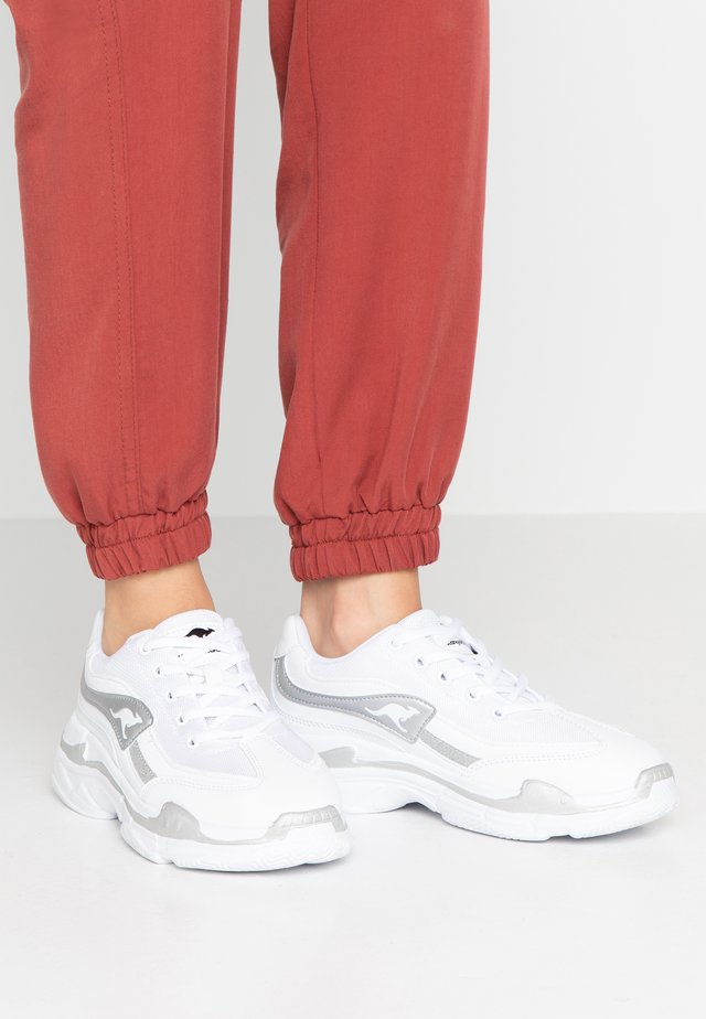 RAVE - Sneakers - white/silver