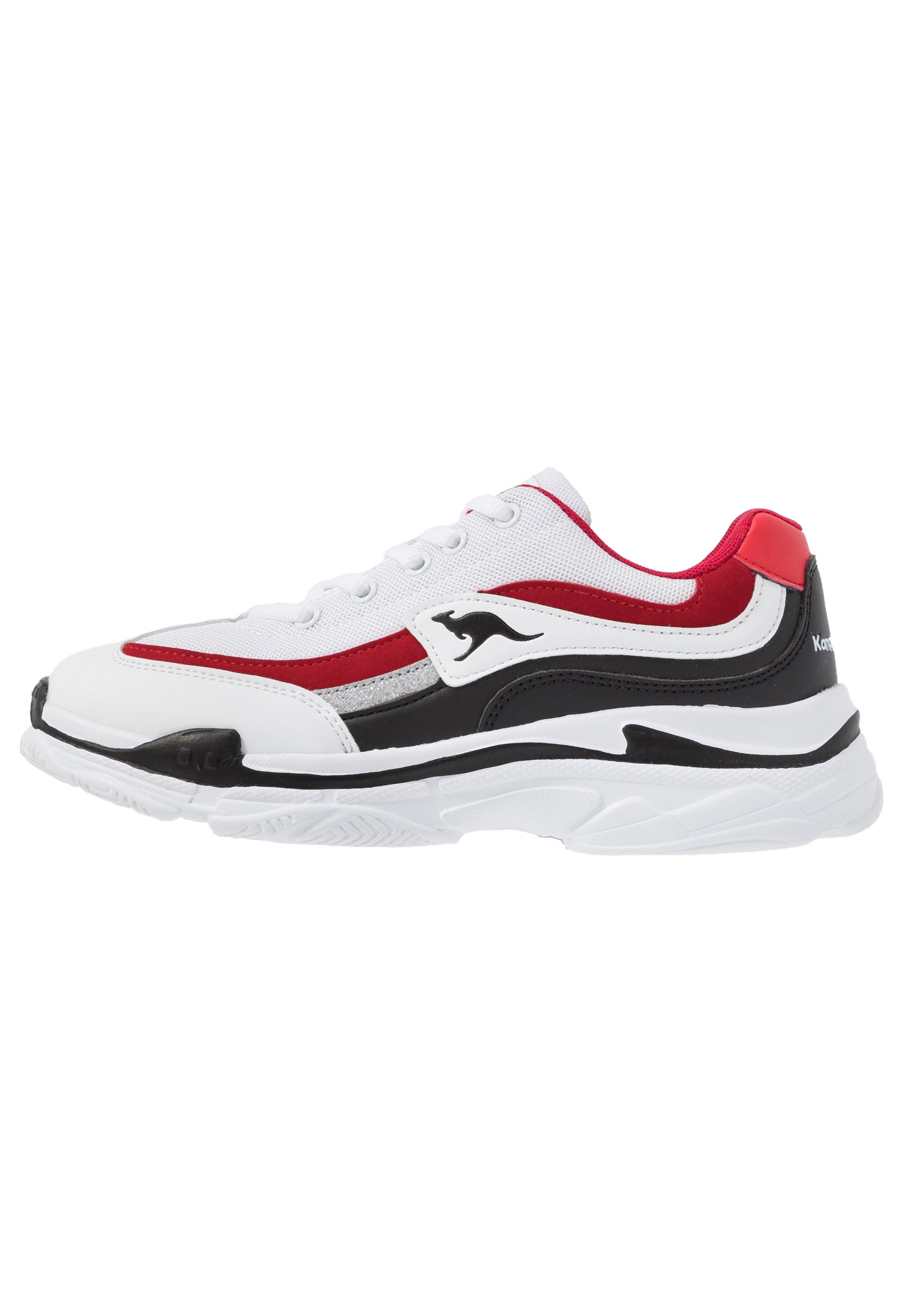 Kangaroos Rave - Sneakers Basse White/red qRgHg