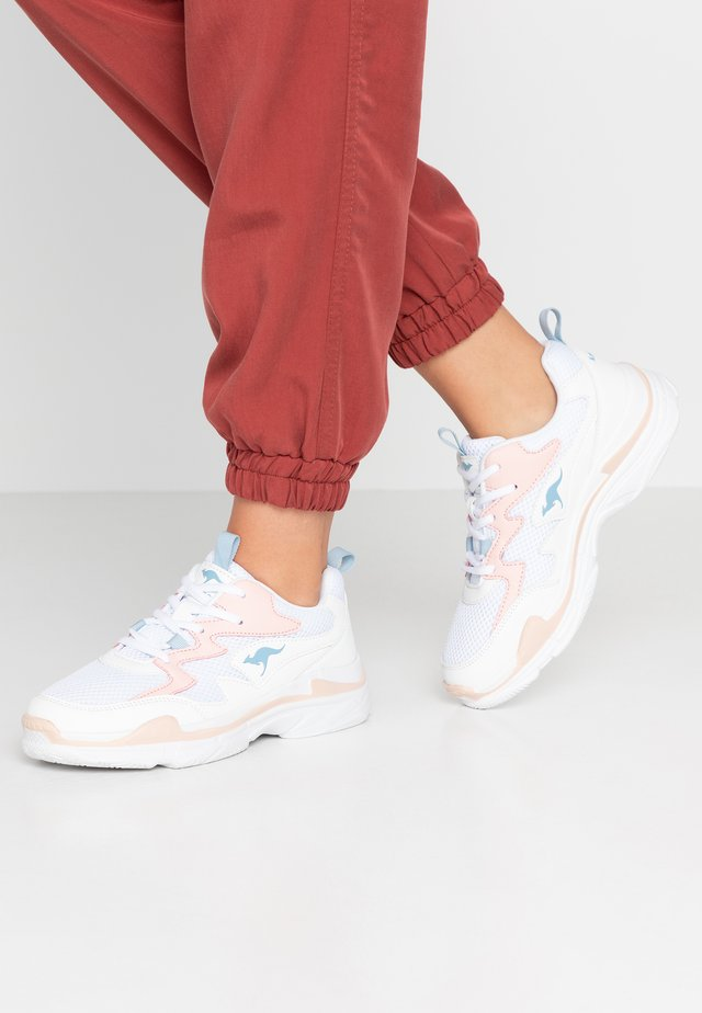 WAVE - Trainers - frost pink/white