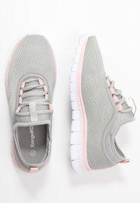 KangaROOS - K-RUN NEO - Sneakers - vapor grey/english rose - 3