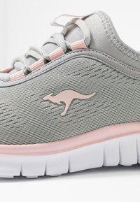 KangaROOS - K-RUN NEO - Sneakers - vapor grey/english rose - 2