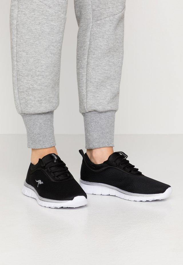 K-RUN NEO - Sneaker low - jet black/silver