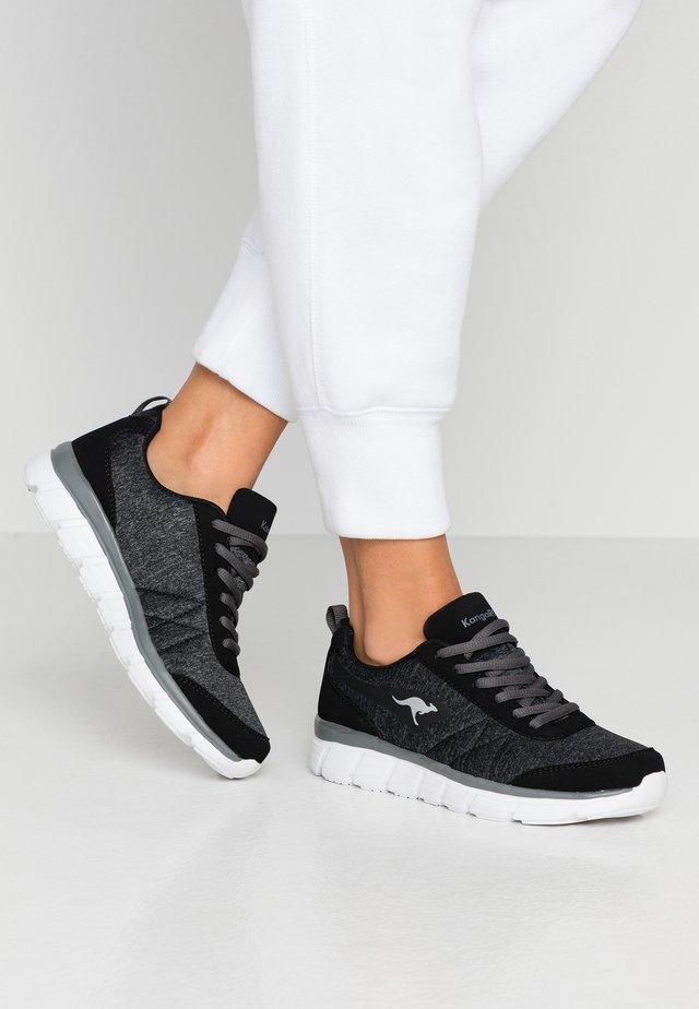 KR-REF - Sneaker low - jet black/steel grey