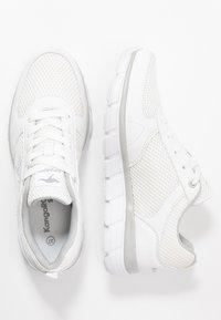 KangaROOS - KR-ECHO - Sneakersy niskie - white/silver - 3