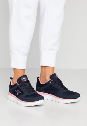 KR-ECHO - Trainers - dark navy/daisy pink