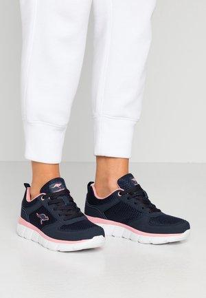 KR-ECHO - Sneakers - dark navy/daisy pink