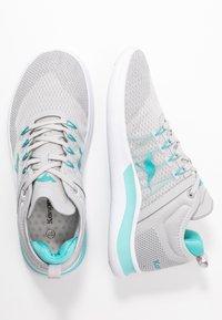 KangaROOS - KG-NIMBLE - Sneakers - vapor grey/turquoise - 3