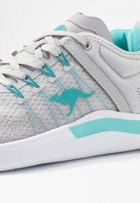 KangaROOS - KG-NIMBLE - Sneakers - vapor grey/turquoise - 2
