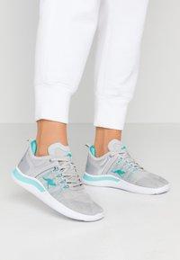 KangaROOS - KG-NIMBLE - Sneakers - vapor grey/turquoise - 0