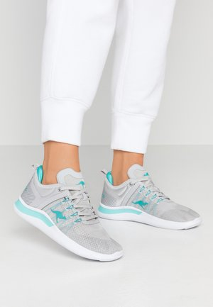 KG-NIMBLE - Trainers - vapor grey/turquoise