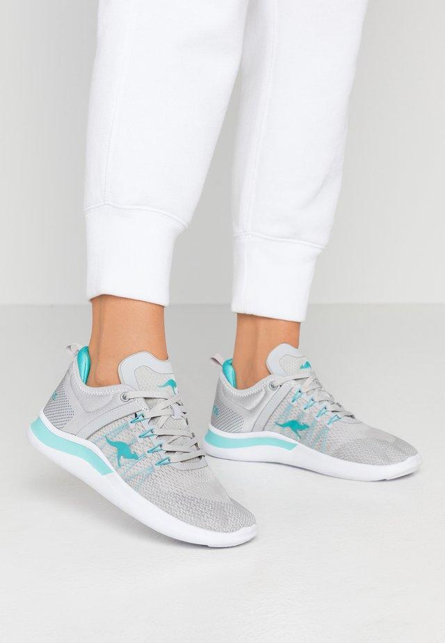 KG-NIMBLE - Sneakers laag - vapor grey/turquoise