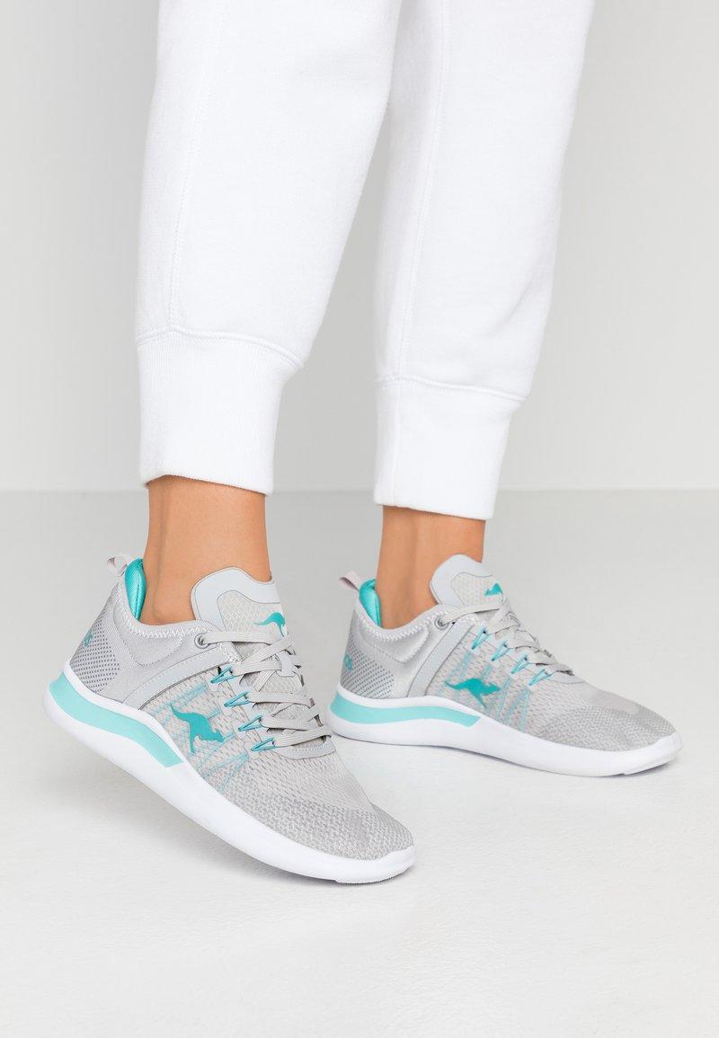 KangaROOS - KG-NIMBLE - Sneakers - vapor grey/turquoise