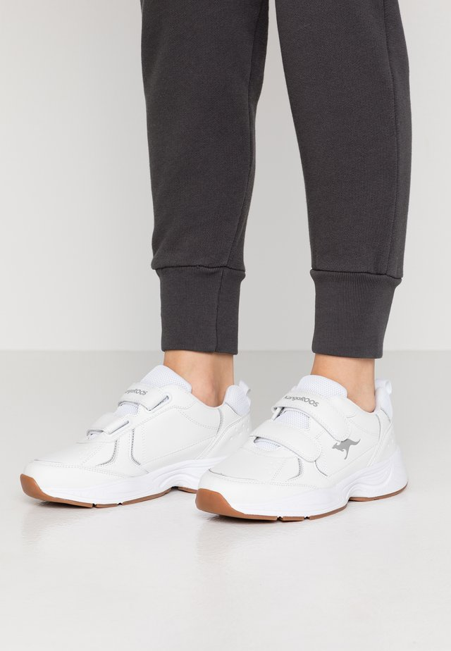K-LEX V - Tenisky - white/steel grey