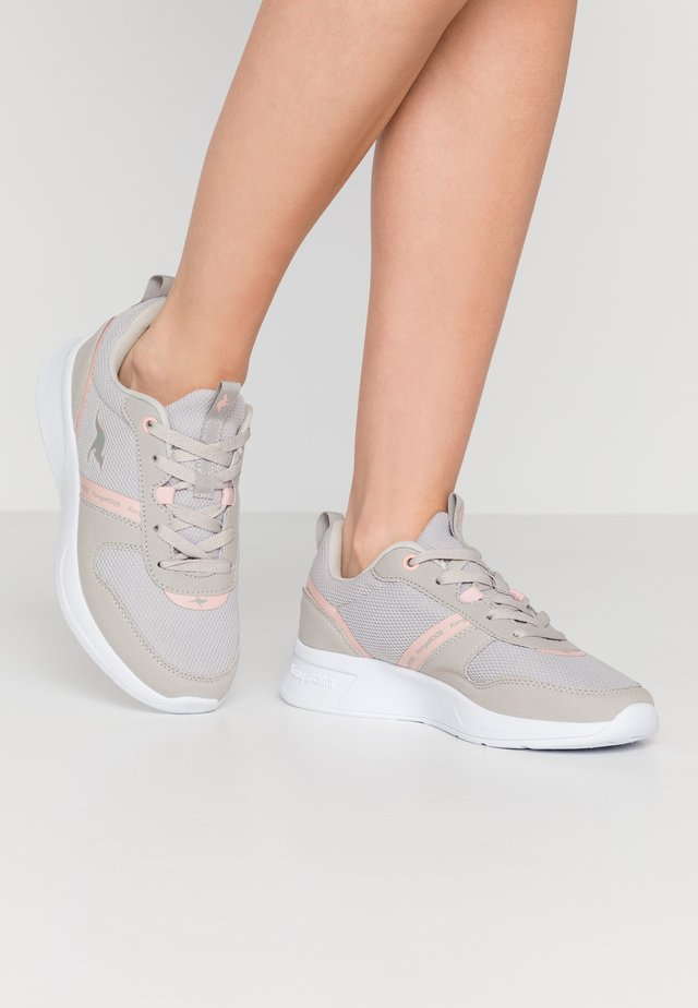 KF-A VOGE - Trainers - vapor grey/frost pink