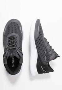KangaROOS - KG-DEFT - Sneakers - steel grey/jet black - 3