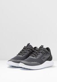 KangaROOS - KG-DEFT - Sneakers - steel grey/jet black - 4