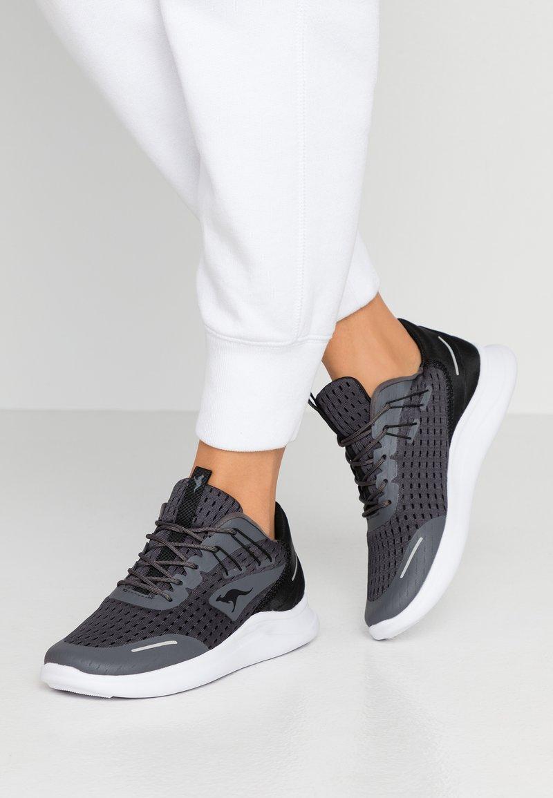 KangaROOS - KG-DEFT - Sneakers - steel grey/jet black