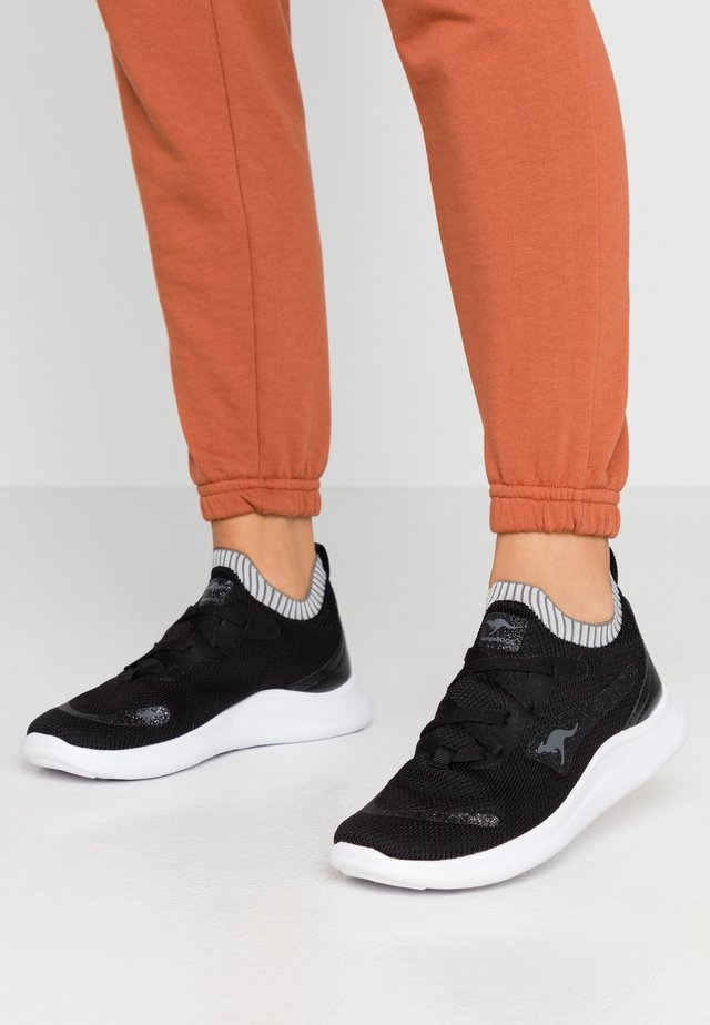 KG-LIMBER S II - Sneakers laag - jet black/dark silver
